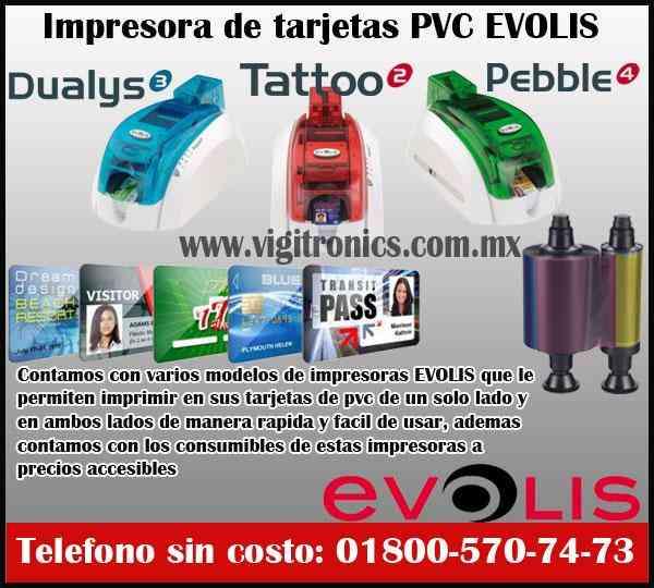 Evolis www.evolis.com.mx impresoras de tarjetas de pvc *EVOLIS MEXICO*