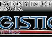 Logistica gamass importacion y exportacion