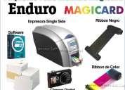 Kit de impresoras de credenciales en pvc magicard enduro kit todo incluido