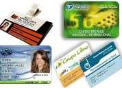 tarjetas plasticas de pvc a precios accesibles