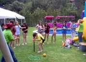 Animadoras para fiestas infantiles juegos concursos baile destreza kermesse sonido