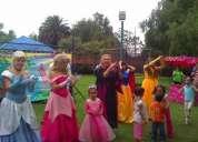 Animadores de fiestas show sonido puestos kermesse inflables grandes juegos mecánicos glob