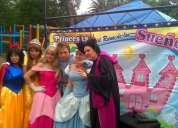 Show de princesas profesional para fiestas infantiles