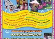 Animadores de fiestas animadoras animacion distrito federal y estado de méxico