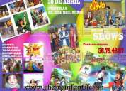 Shows infantiles los mejores en méxico imitadores animadores 19424380