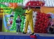 Payaso patotas circo fiesta  un circo de verdad