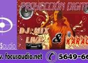 Sonido,audio,dj. e iluminaciÓn para fiestas!!