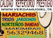 Mariachis desde $1800 en el d.f- marimbas jarochos bandas trios norteños
