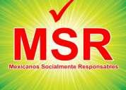 Únete... mexicanos socialmente responsables.