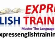 Entrenamiento y curso de ingles express en solo 3 meses