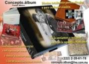 Calidad en álbumes fotográficos empastados, envío a todo méxico