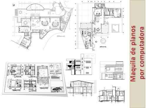 Maquila de planos arquitectonicos dibujante autocad for Planos arquitectonicos gratis