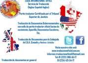 Traducción y asesorías de inglés