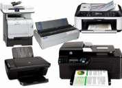 Reparación y venta de impresoras
