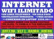 Internet wifi ilimitado gratis