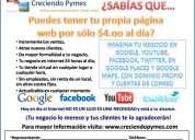La pagina web mas barata de méxico - creciendo pymes