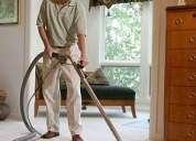 Profesionales en limpieza de muebles y alfombras.