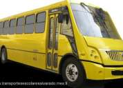Transporte escolar alvarado