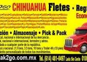 Mudanzas economicas en chihuahua