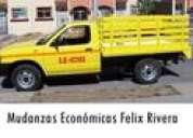 Fletes y mudanzas economicos felix rivera