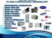 Servicio tecnico en aires acondicionados y refrigeracion