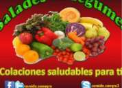 Sandwiches saludables, ensaladas, a domicilio