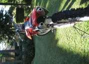 Se vende cross honda 250 2007