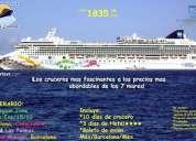 ¡divierte en un espectacular crucero! desde 1,835,00 usd