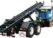 Sistema para manejo de contendedores roll-off