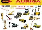 Maquinaria para construccion, compresores, gruas y martillos