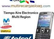Somos  distribuidores de recargas para celulares