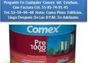 Pinturas comex. vinimex.  me-70  19  $ 311.00  tel. 53-59-94-48