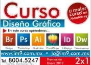 Curso photoshop, illustrator, corel draw