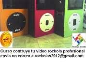 Curso rockolas digitales + karaoke gratis disco duro