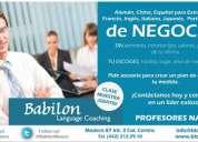 Idiomas para negocios