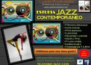 Clases de jazz contemporaneo