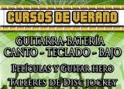 """Curso de verano musical """"summer rock camp"""" echegaray. satélite. n"""