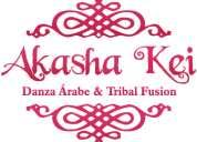 Clases de bellydance (danza arabe),tribal americano,tribal fusion