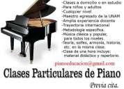 Clases de piano en toluca