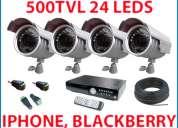 Sistema de vigilancia compatible con telefonos moviles