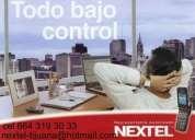 Nextel sin contrato sin buro de credito todo ilimitado