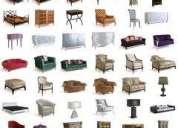 Muebles, todo tipo de articulos que esten en buen estado