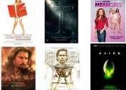 Posters 100% originales de tus películas favoritas