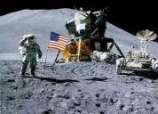 Llegada del hombre a la luna apolo once