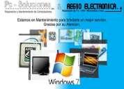 Reparación de electrónicos y pc - venta.