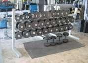 Vendo mancuernas de 22 a 40 kg