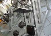 Prensa para gym seminueva, super reforzada $14000.00