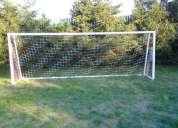 Venta de redes para canchas de futbol etc.