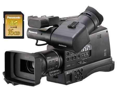 AG-HMC80 Videocámara Profesional Con tarjeta SD de 16 Gb