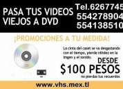 Convertimos tus vhs a dvd